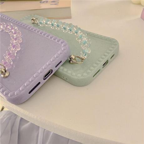 Petite flower strap iphone case