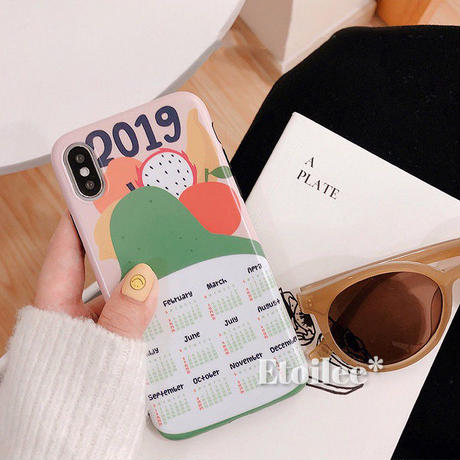 Fruits calendar iphone case
