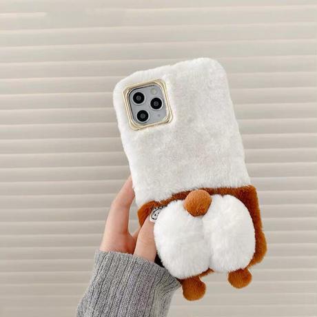 Puppy hip fur iphone case