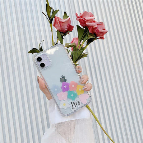 Flowers made my day quicksand iphone case