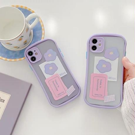 Ticket to tomorrow purple side iphone case
