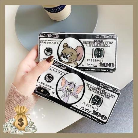 Mouse cat money  iphone case