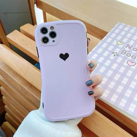 Simple one heart iphone case
