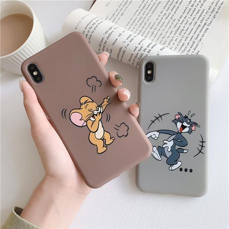 Mouse cat brown grey  iphone case