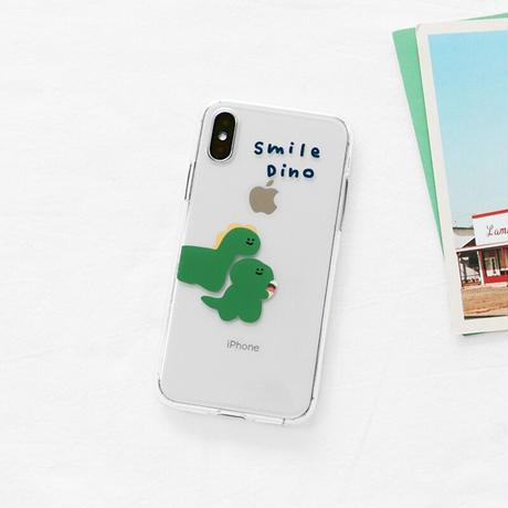 Smile dino clear case 264