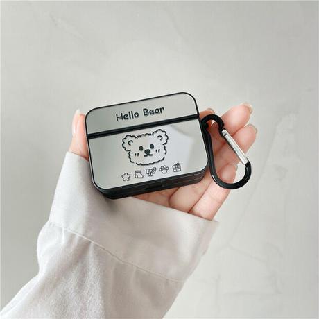 Hello bear mirror airpods case
