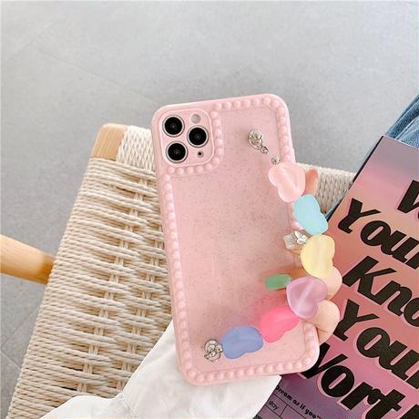Candy color strap iphone case