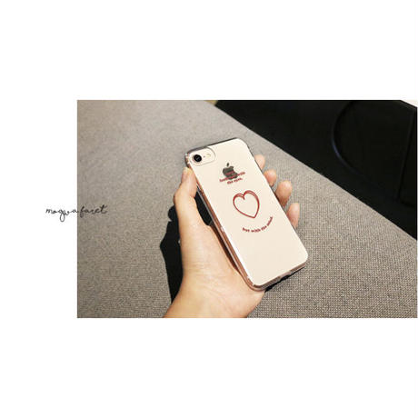 Love look clear case