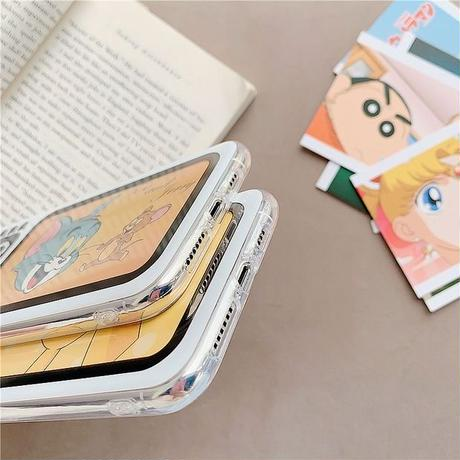 TV printing clear iphone case