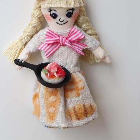 Pancake/Beige Doll Charm