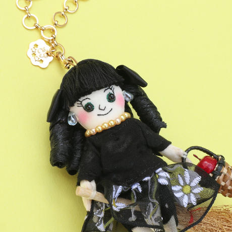 Witch Apprentice Girl Doll Charm