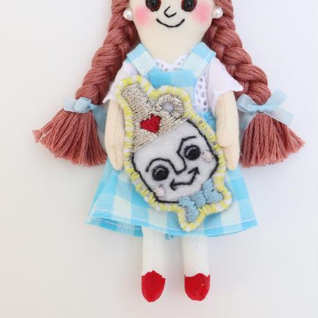 Wizard of Oz / Dorothy × Tinplate  Doll Charm