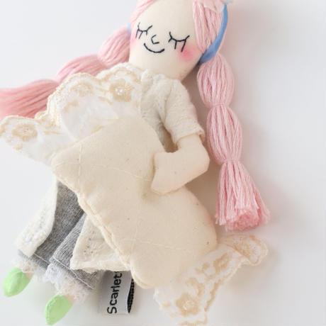 Sleeping Girl Doll Charm