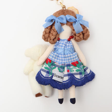 Teddy Bear Friend(White) Doll Charm