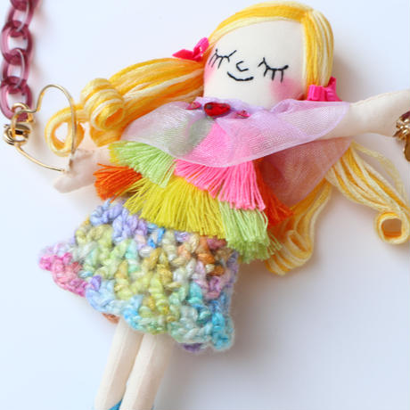 Tropical Fashion Doll Necklace