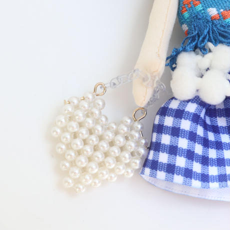 Heart To Heart  Doll Charm