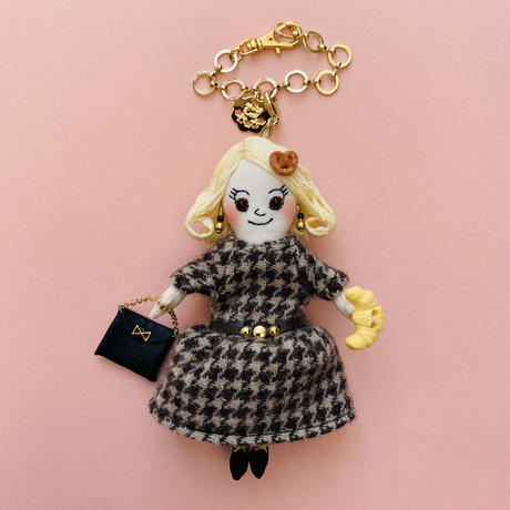 Pretzel Girl Doll Charm