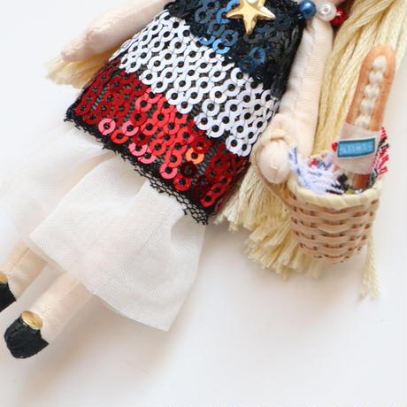 Tricolore/Baguette Doll Charm