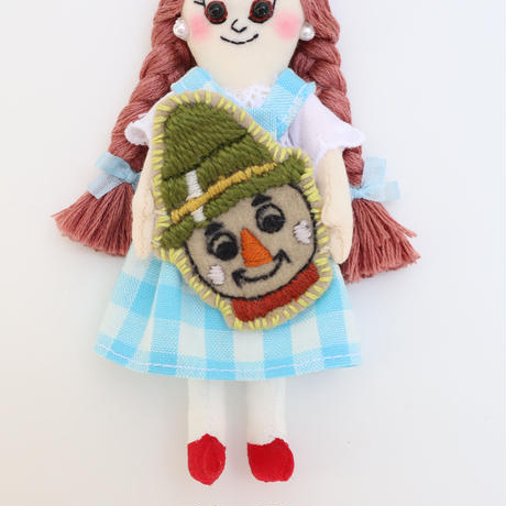 Wizard of Oz / Dorothy × Scarecrow Doll Charm