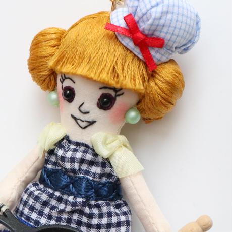 Patisserie Pancake/Blue Doll Charm