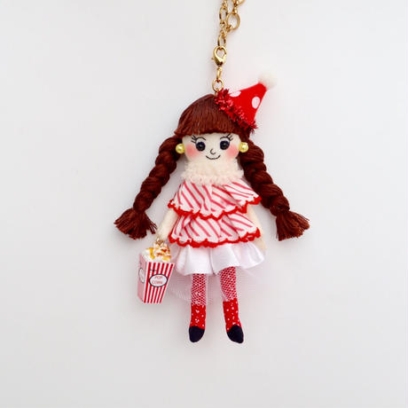 Circus Girl Doll Charm