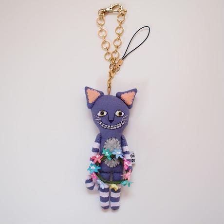 チェシャ猫 ドールチャーム(Cheshire Cat doll charm)