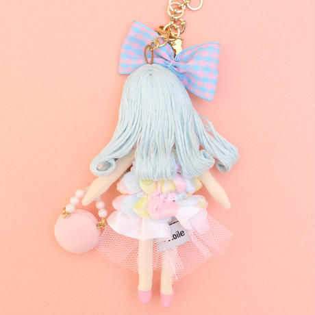 Macaron Color Fashion Doll Charm