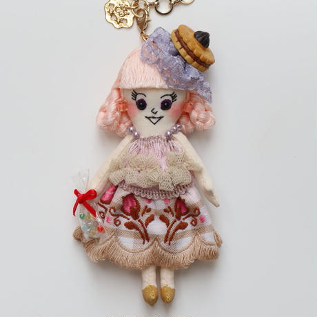 Candy Girl Doll Charm
