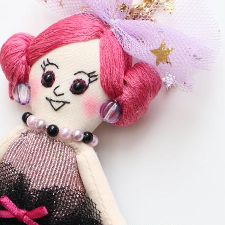 Sparkle Dress Doll Charm