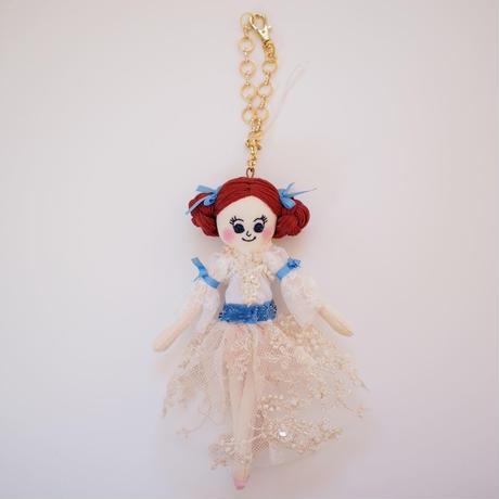 くるみ割り人形(クララ)ドールチャーム Nutcracker (Clara)