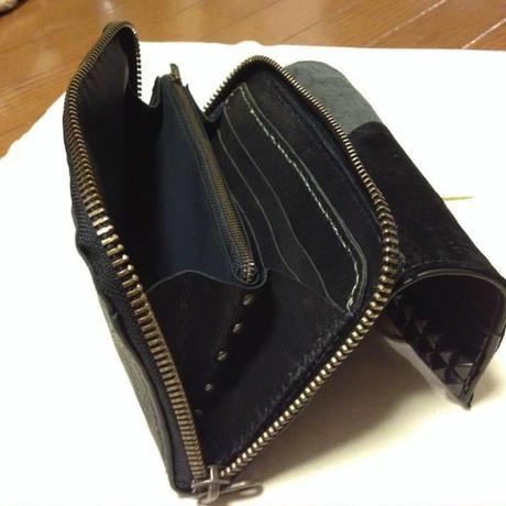 long wallet and the passport case   #Combination