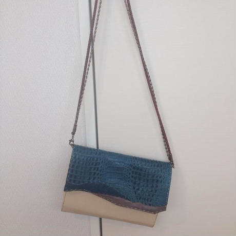 Clutch and Shoulder 2way bag #collage2