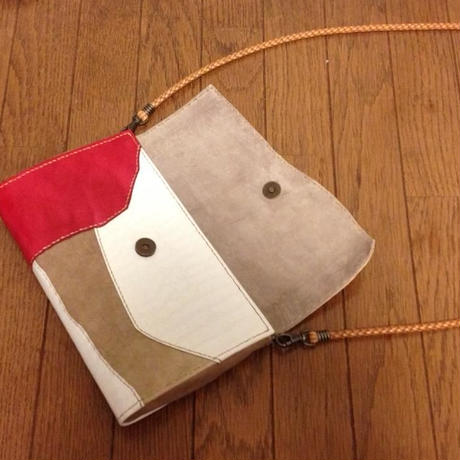 Clutch and Shoulder 2way bag          #collage