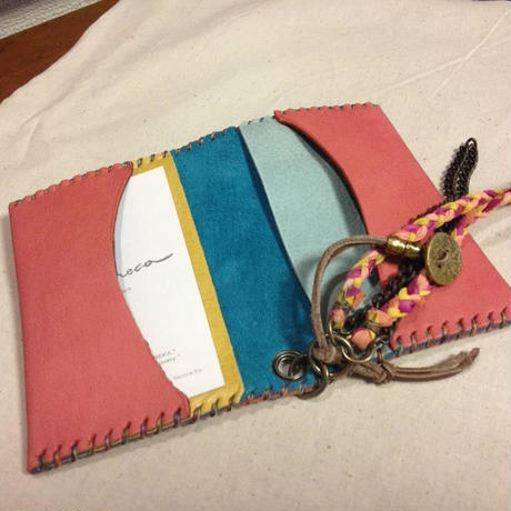 Semi-custom made item Card case #double up