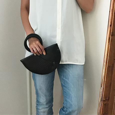 """black mini hand bag"""
