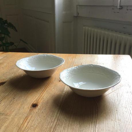 イギリス/BURLEIGHバーレイ社 深皿小鉢/2個セット