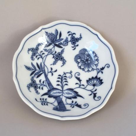 チェコスロバキア/Carlsbadカールスバード社/ブルーオニオン・ 小皿