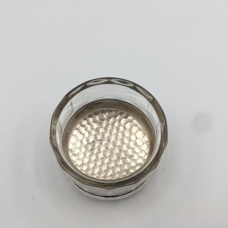 ヴィンテージ・シルバー&ガラス/ 小物入れ・アクセサリーケース
