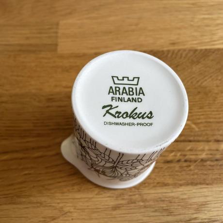 フィンランド/ARABIAアラビア社/Krokusクロッカス/クリーマー