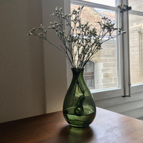 スウェーデンBODA社・エリックホグランErik Höglund/フラワーベース/花器