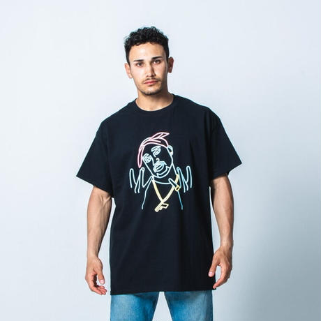 NEON LEGENDS TEE by  PALM/STRIPES