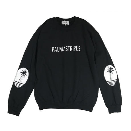 """先行予約"" LOGO  SWEAT  CREW   by  PALM/STRIPES"