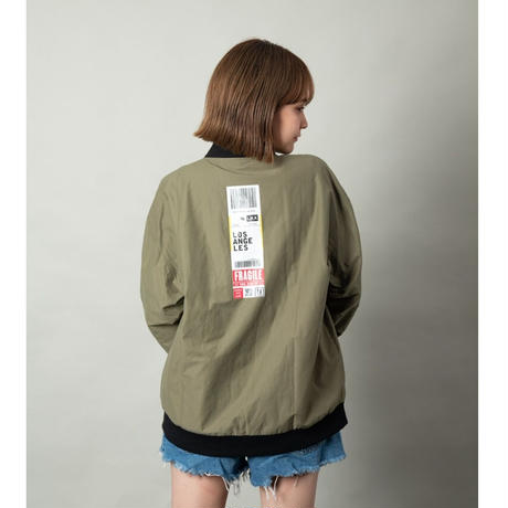 P/S AIRLINES JACKET #olive by  PALM STRIPES