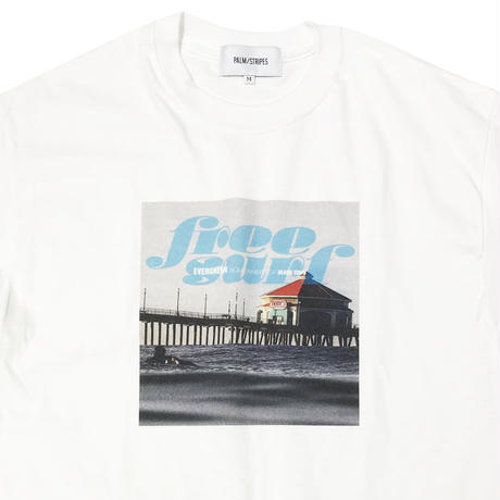 FREE SURF TEE by PALM/STRIPES