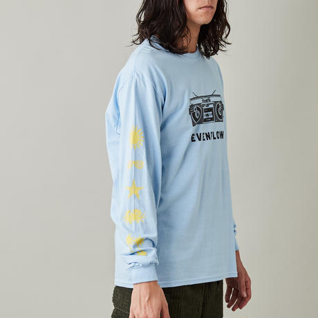 TROPICAL L/S TEE 'PLAYER'