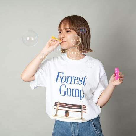 FORREST  GUMP × PALM/STRIPES TEE