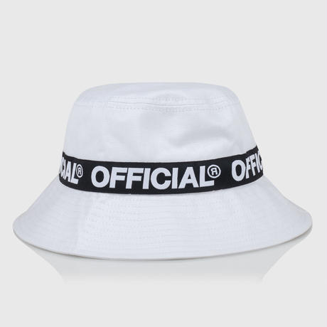 OFFICIAL  REPEAT LOGO BUCKET  HAT