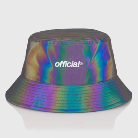 OFFICIAL  REFLECTIVE   RAINBOW BUCKET  HAT