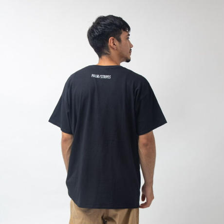 MEGA  MART & COMPTON  TEE  by  PALM/STRIPES