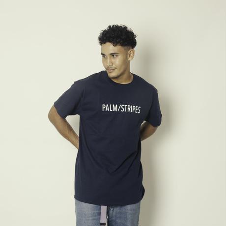 PALM/STRIPES LOGO TEE